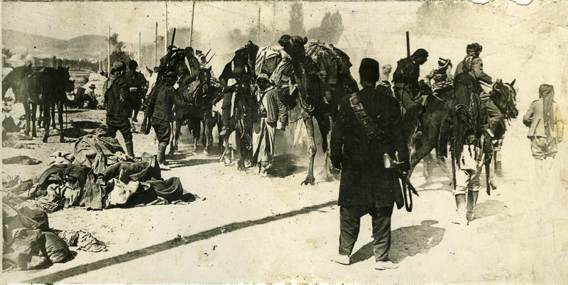 Irregular Arab troops in Damascus, October 1918