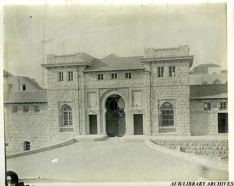 SPC Main Gate closed in 1917