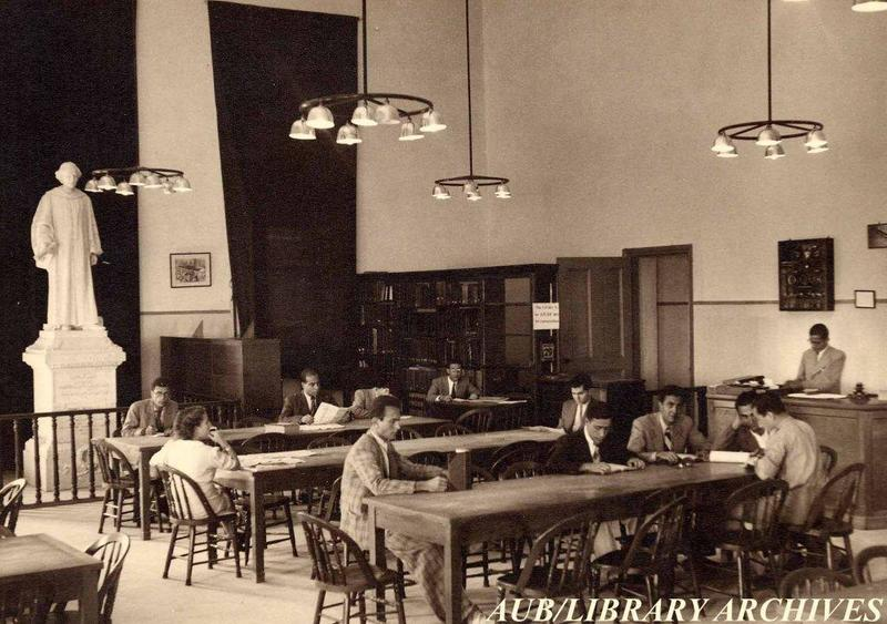 College Hall Library,  1940