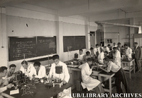 AUB Students in Lab, 1931-1940