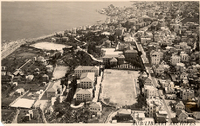 Aerial view of AUB Campus and Bliss Street 1938