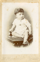 Constantine Zurayk as a child, ca. 1910, Private Collection